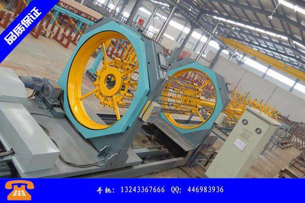 桂林秀峰區鋼筋籠滾焊機作用行業發展前景分