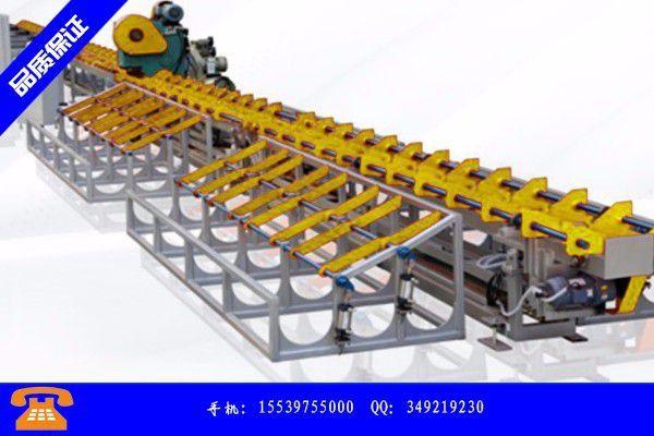 广汉市钢筋套丝锯切生产线的制作流程图是怎么样的呢