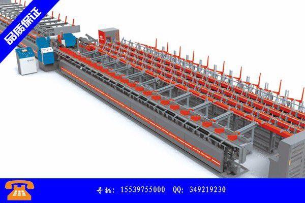 安康紫阳县钢筋锯切镦粗套丝打磨生产线怎样进行化学制造工艺