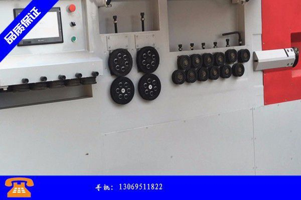 临汾洪洞县钢筋弯箍一体机价格呈上涨趋势淡季行情下拼的是勇气