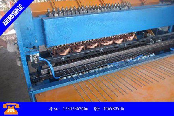 廊坊香河县卷网焊接机制造费用