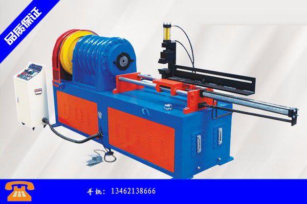 南寧邕寧區導管尖頭成型機產品的性能與使用
