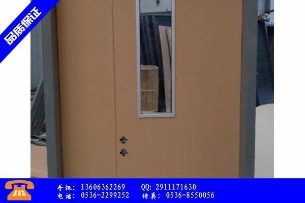 潍坊诸城不锈钢门的价格节后前价格如何演绎