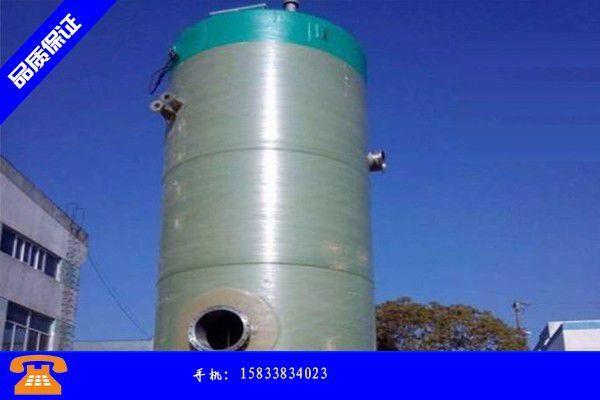 河源污水加压泵站市场随行跟涨