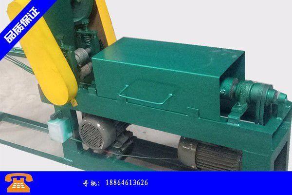 海东钢筋延伸调直机在生产时用到的防裂技术
