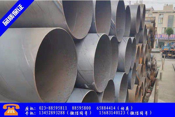 平度市大口径防腐螺旋钢管行业凸显