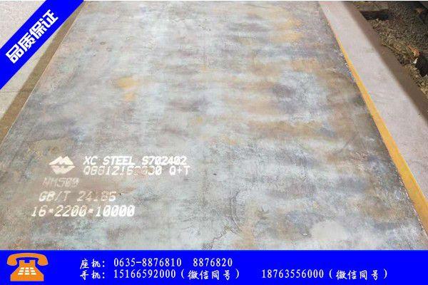 承德兴隆县q345耐候钢板价格