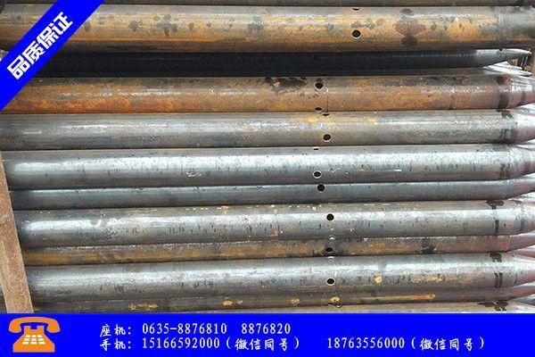 青州市管棚管注浆产品的选择常识