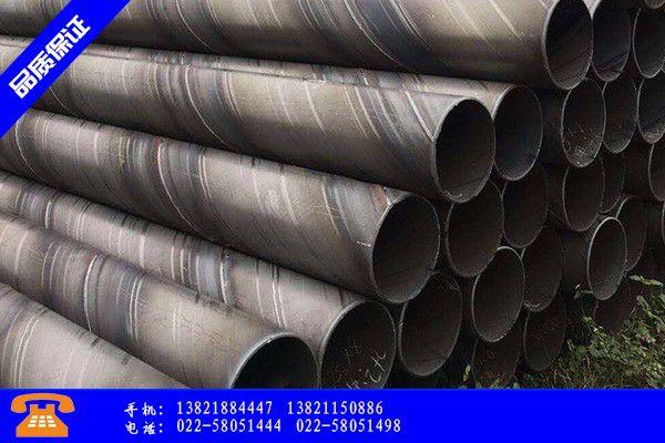 榆林横山县螺旋钢管设备