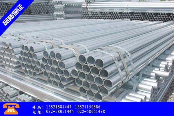 台州黄岩区镀锌方管价格新产品
