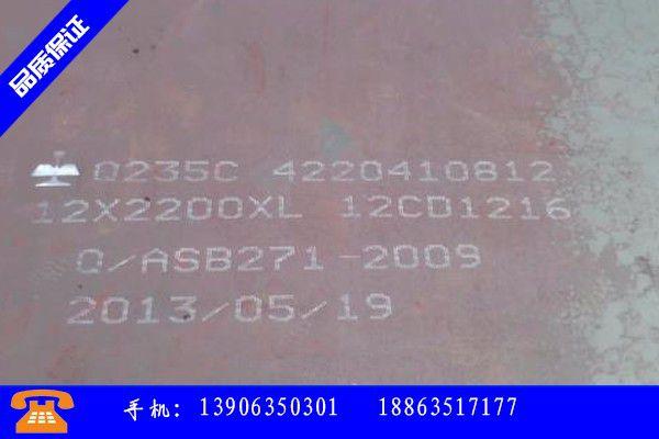 承德鹰手营子矿区20号钢板规格型号