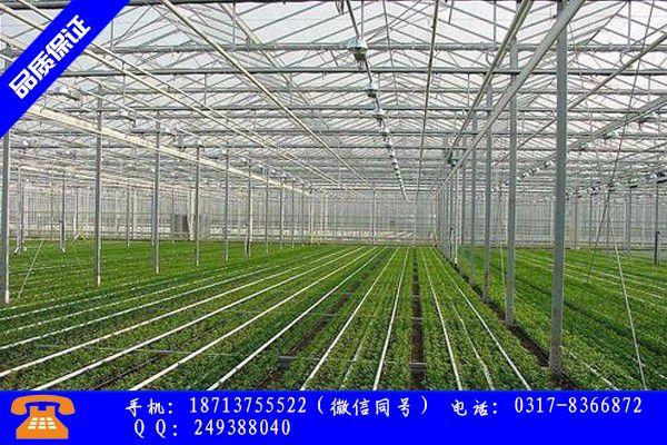 三門峽湖濱區養殖建大棚產品的生產與功能