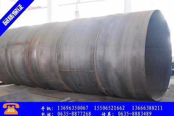 仪征市大口径厚壁卷管生产质量检验报告