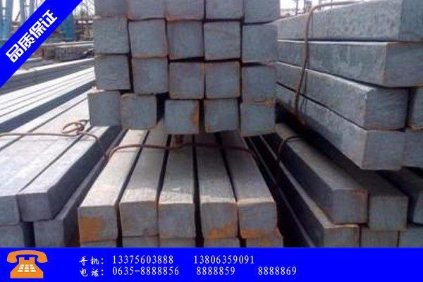 南充閬中方鋼鋼管價格發展必然