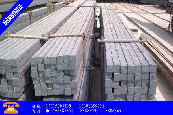 长兴县扁钢q235产品的选用