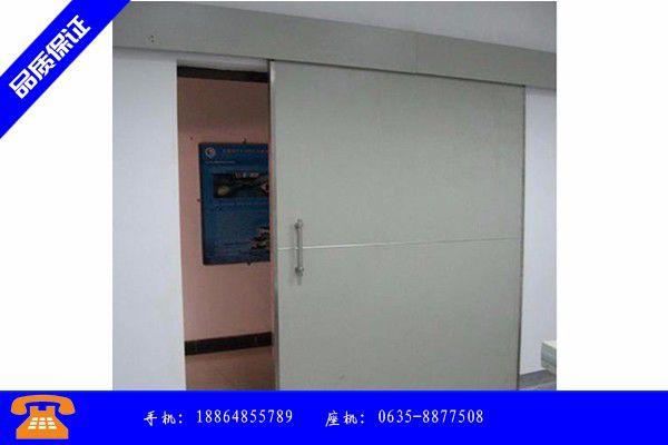 大同灵丘县防护门质量标准