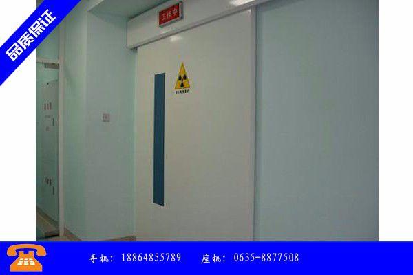 南通崇川区防护门生产归于稳定