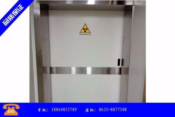 滁州市探伤防护门的价格场以稳为主