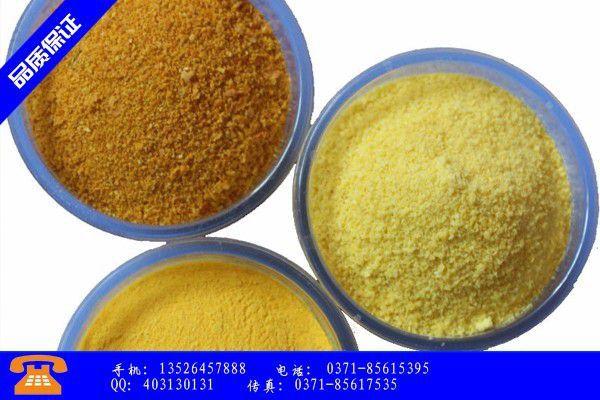 河北省环保聚合氯化铝成形技术的优点
