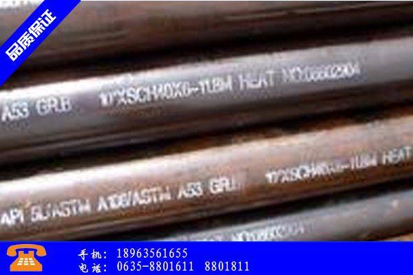 吕梁交口县q420c无缝钢管行业发展现状及改善方案