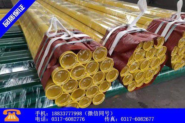 白沙黎族自治縣給水用涂塑鋼管實體供貨