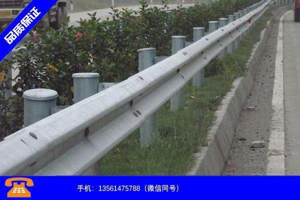 乌兰察布丰镇高速公路护栏改造工程系列产品使用特性