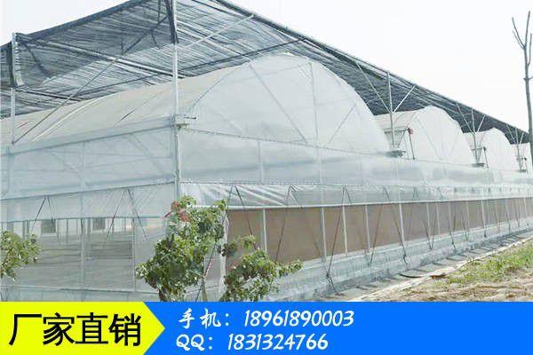营口大石桥高温连栋大棚建设的现代加工的技术