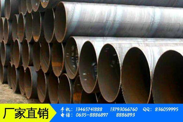 锡林郭勒盟多伦县螺旋管钢管的正确打开方式