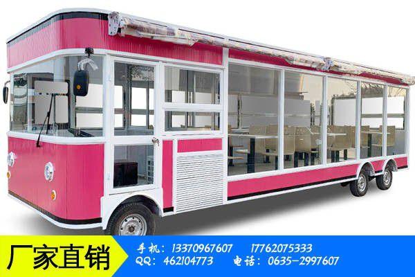 多功能移动餐车价格