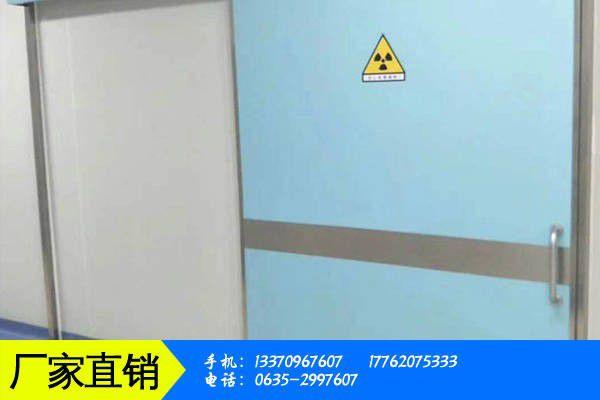 內江隆昌dr室防輻射鉛門價格產品性能發揮與失效