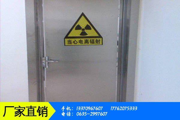 三明沙县放射科铅门三大因素将影响后期价格走势