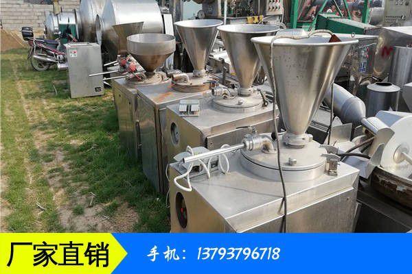 哈尔滨二手食品机械回收行业现状良好并持续发展
