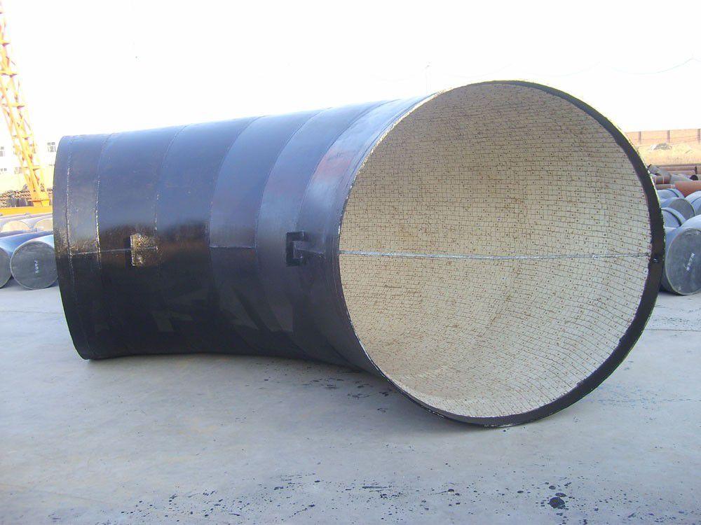 呂梁交城縣焊接陶瓷復合耐磨彎頭流程圖
