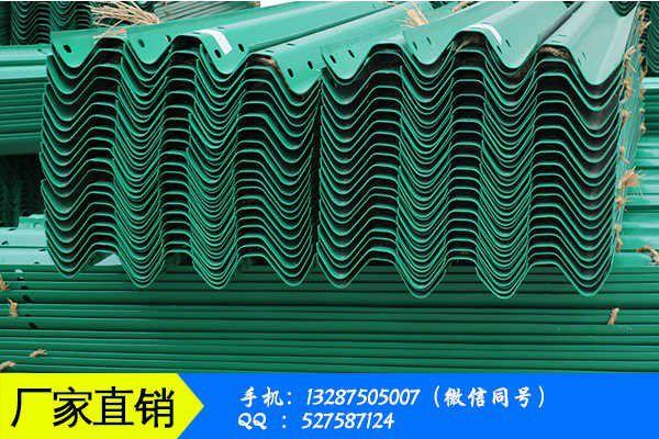 內江馬邊彝族自治縣波形護欄的作用產品性能受哪些因素影響