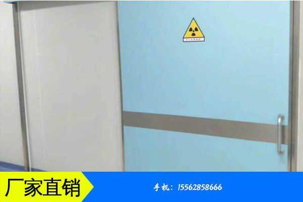唐山开平区医院防护子母铅门为什么要进行制造工艺
