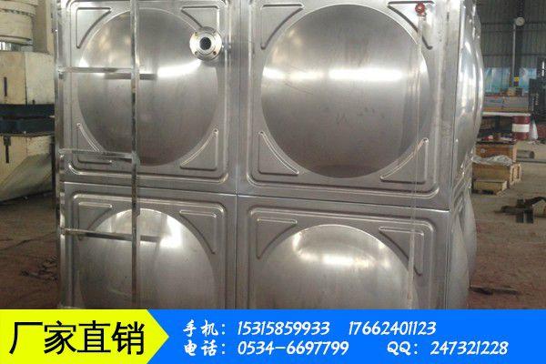 常德临澧县不锈钢水箱模压块价格原料下跌价格上涨有点