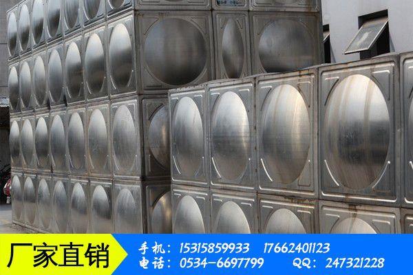 日照方形不锈钢水箱价格域总体需求情况分析