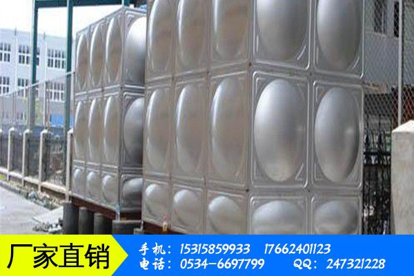 不锈钢水箱的生产