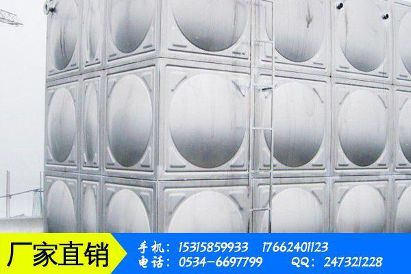不锈钢生产水箱