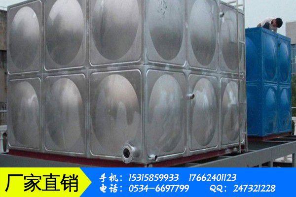不锈钢消防保温水箱定制