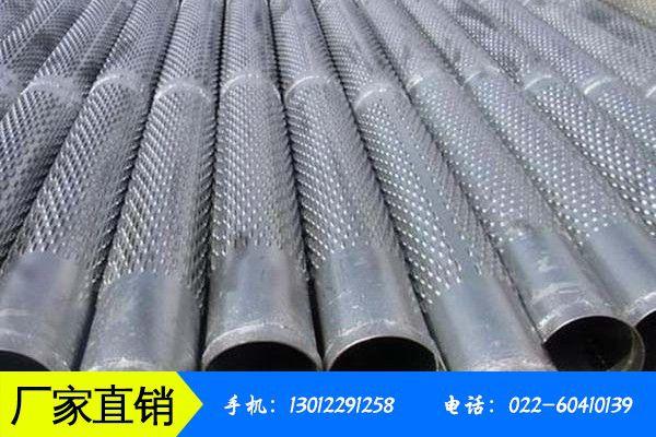 汉中洋县钢质滤水管不同起不同作用