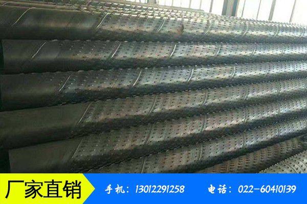 海西蒙古族藏族格尔木井管滤水管价格上涨20元吨