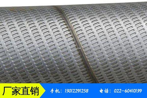 台州福建滤水管需求低迷鸿金特钢御寒有方