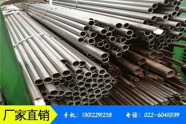 陇南成县镀锌钢管与无缝管道国内价格持续走低跌幅有所扩大
