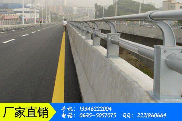 上海黃浦區橋梁專用不銹鋼復合管護欄7日73場報價持平