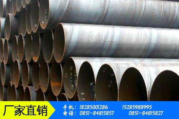 保山隆陽區防腐螺旋鋼管制造