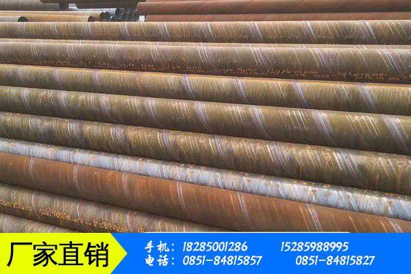 黔东南苗族侗族锦屏县8710螺旋钢管防腐影响加工中切割质量的因素有哪些