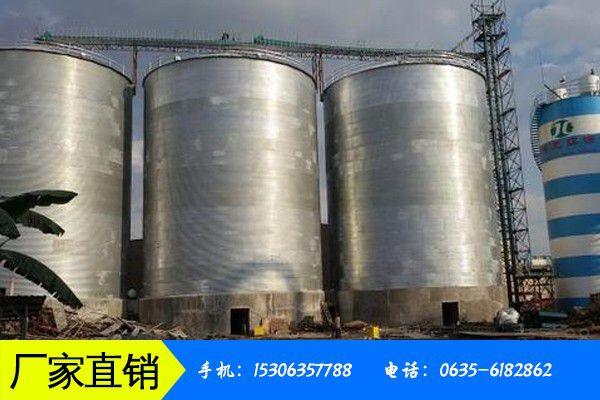 昆明五华区大型钢板仓宏观环境持续疲软价格继续压