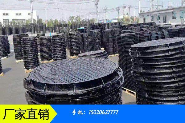 潮州市重型球墨铸铁防盗井盖操作的注意事项有哪些