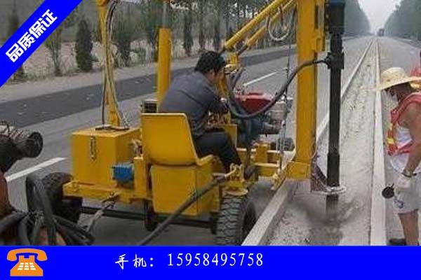 厂区道路标线施工
